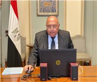 شكري: مصر تدعم كافة دول القارة الأفريقية في حربها على الإرهاب