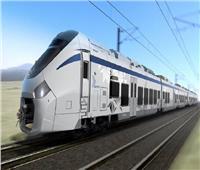 أول فيديو جوي يرصد مسار القطار الكهربائي