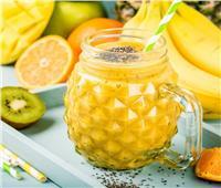 عصائر رمضان|| عصير الكيوي بالمانجو والأناناس