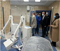 خلال 7 أيام| تشغيل مبنى الطوارئ بمستشفى بنها التعليمي