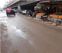 صور| موجة من الطقس السيئ والأمطار تضرب هذه المدن بالبحيرة