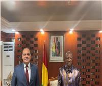 رئيس غينيا يشيد بالسيسي والإمكانيات المصرية في شتى المجالات