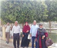 حملة تشجير بمنطقة الأربعين بمدينة أسيوط