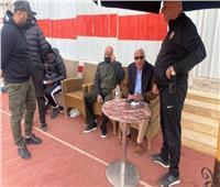 رئيس الزمالك يؤازر الفريق قبل المهمة الأفريقية