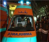 إصابة 4 في تصادم سيارة نصف نقل بحاجز خرسانيبالسويس