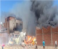 مصدر أمني ينفي نشوب حريق هائل بقرية في كفر الشيخ