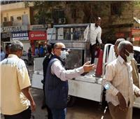 إطلاق حملات لإزالة الإشغالات بمدينة أسوان