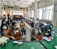 القومي للمرأة بالمنيا يعقد تدريبات ميدانية للطلاب حول دور الوحدات المحلية