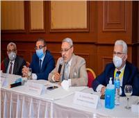 رئيس جامعة طنطا يختتم فعاليات المؤتمر الدولي الرابع لكلية الهندسة