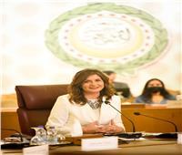 وزيرة الهجرة: كارول سماحة تبرعت بأجرها في أغنية «اتكلم عربي»