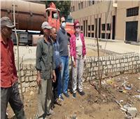 جامعة حلوان تواصل جهود تدشين برنامج محو الأمية في منطقة كفر العلو
