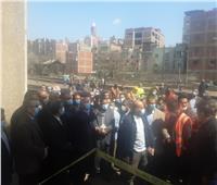 وزير النقل يعنف رئيس محطة طنطا وقائد قطار بسبب إجراءات السلامة