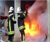 إخماد حريق بجوار سجن المنيا العمومي