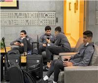 بعثة بيراميدز تصل مطار القاهرةاستعدادا للسفر إلى المغرب