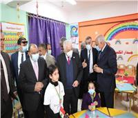 وزيرا التعليم والتنمية المحلية يفتتحان مشروعات تعليمية ببولاق الدكرور | صور