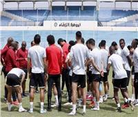 دوري أبطال إفريقيا| محاضرة قصيرة للاعبين قبل انطلاق مران الأهلي