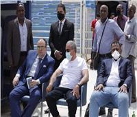 دوري أبطال إفريقيا | السفير المصري يحضر مران الأهلي في «الجوهرة الزرقاء»