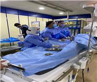 إجراء 8 قساطر قلبية بمستشفى الزقازيق العام