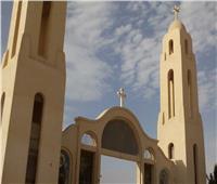 دير الأنبا صموئيل بالمنيا يستقبل الزائرين لإحياء ذكرى «الأنبا مينا»