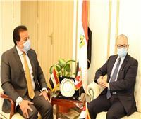 وزير التعليم العالي يبحث آليات التعاون العلمي مع السفير الكندي بالقاهرة