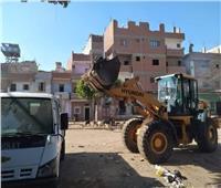 رفع 40 طن قمامة ومخلفات في حملة نظافة بـ«المنيا»