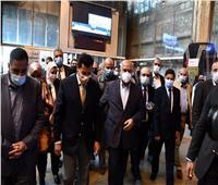 وزيرا الرياضة والنقل يودعان المشاركين بفوج قطار الشباب للأيتام