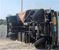 إصابة 15 شخصًا في انقلاب سيارة بالإسماعيلية