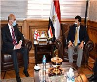 وزير الرياضة وسفير جورجيا يوقعان بروتوكول تعاون على الصعيد الشبابي