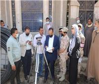 صور| نائب محافظ المنيا يتفقد مشروعات حياة كريمة بالقرى