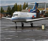 اصطدام طائرتين في مطار سورجوت الروسي