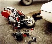 مصرع شخصين وإصابة آخر في حادث تصادم بقنا