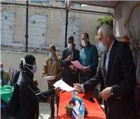 محافظ الجيزة يشهد احتفالية يوم اليتيم