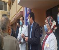 جولة لوكيل صحة المنوفية لمتابعة تطعيم المواطنين بلقاح كورونا