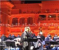 بأغاني أم كلثوم ماجدة الرومي تتألق في حفل قصر القبة | صور