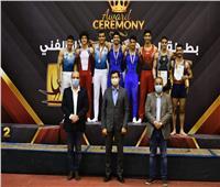 وزير الرياضة يشهد نهائي بطولة الجمهورية للجمباز بالصالة المغطاة بمدينة نصر