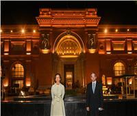 الأثار يلتقي برئيس اليونسكو لحضور احتفالية موكب المومياوات الملكية| صور