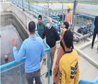 «مياه المنوفية» تتابع تنفيذ مشروعات مبادرة «حياه كريمة» بقرى الشهداء