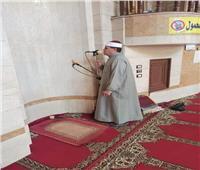 تطبيق ضوابط «الأوقاف» خلال صلاة التراويح بمساجد شمال سيناء