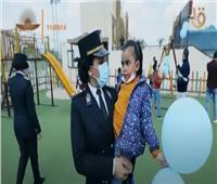 «يوم ترفيهي وهدايا».. الداخلية تشارك الأطفال الاحتفال بيوم اليتيم  فيديو