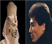 نجوم الفن وأشباههم من الملوك الفراعنة   صور