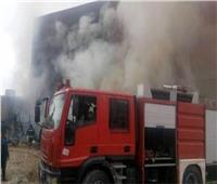 حريق هائل بمزرعة موالح بالشرقية