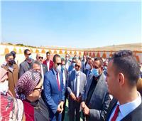 محافظ البحيرة يتفقد مركز شباب الخرطوم بمركز بدر