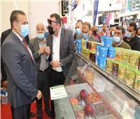 محافظ المنوفية يتفقد معرض «أهلاً رمضان» بشبين الكوم لبيع السلع بأسعار مخفضة