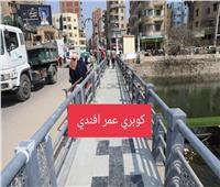 محافظ المنوفية يتفقد أعمال رصف شارع دبيوتطوير كوبري عمر أفندي |صور