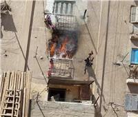 إخماد حريق بشقة في مساكن السجن غرب الإسكندرية