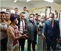 أعضاء لجنة الشباب والرياضة بالبرلمان يشيدون بمركز شباب علي مبارك | صور