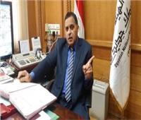 رئيس السكة الحديد يتعرض لحادث خلال جولته مع وزير النقل في المنيا
