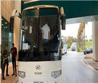حافلة الزمالك تتوجه إلى ملعب مواجهة مولودية الجزائر