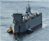 السفن الروسية تتدرب على تقنيات القتال البحري