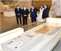 الرئيس السيسي يفتتح متحف الحضارة لاستقبال الموكب الذهبي